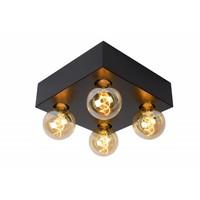 SURTUS - Ceiling light - 4xE27 - Black - 30174/04/30