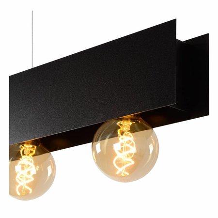 Lucide SURTUS - Pendant lamp - E27 - Black 30474/04/30