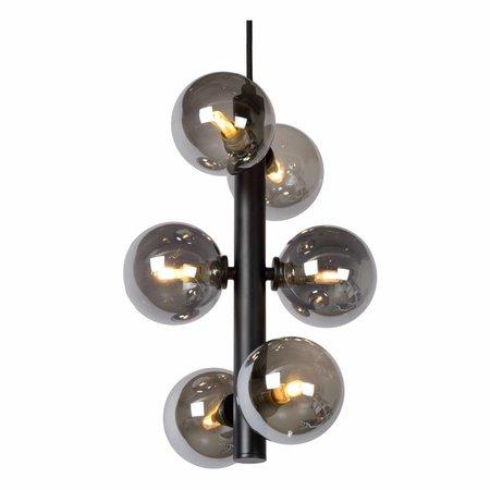Lucide TYCHO - Hanglamp - Ø 25,5 cm - G9 - Zwart 45474/06/30