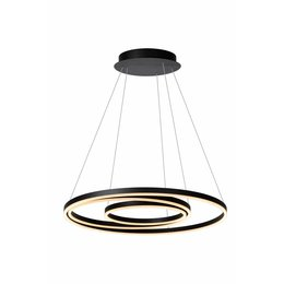 Lucide TRINITI - Hanging lamp - LED Dimming. - 1x136W 3000K - Black 46402/99/30
