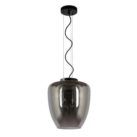 Lucide FLORIEN - Hanging lamp - E27 - Fumé 30473/28/65