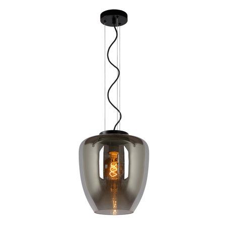 Lucide FLORIEN - Hanging lamp - E27 - Fumé
