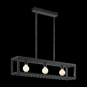 EGLO Elswick hanging lamp Black 49564