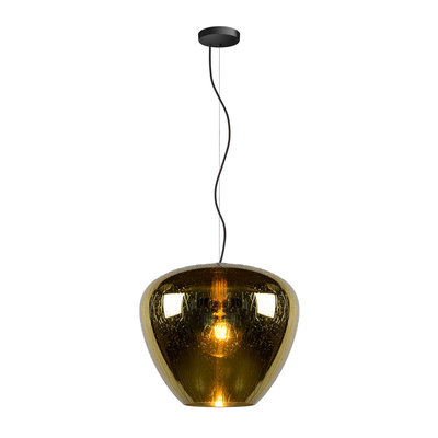 Lucide SOUFIAN - Hanging lamp - E27 -Gold 70478/40/01