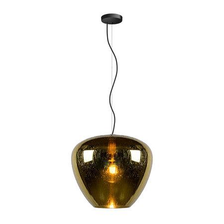 Lucide SOUFIAN - Hanging lamp - E27 -Gold 70478/40/01