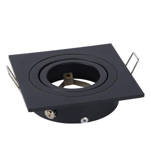 Lucide Spot encastrable TUBE - Spot encastrable - GU10 - Noir - 22955/01/30