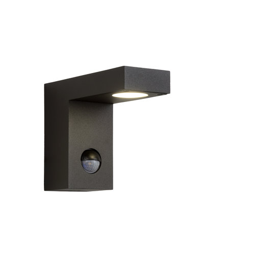 Lucide TEXAS-IR - Wall spotlight Outdoor - LED - 1x6W 3000K - IP54 - Anthracite - 28850/24/30