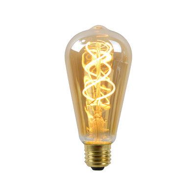 Philips LED Bulb - Filament lamp - ST64 - LED Dimb. - E27 - 1x5W 2200K - Amber