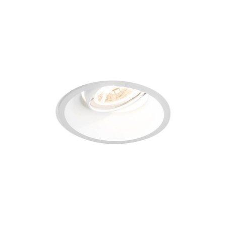 Wever & Ducré Inbouwspot DEEP ADJUST 1.0 LED Blade springs