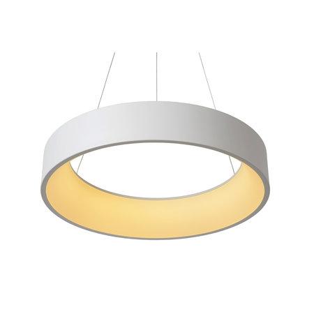 Lucide TALOWE LED hanglamp Ø 60 cm wit 39W 46400/42/31