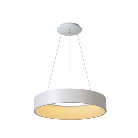 Lucide TALOWE LED hanging lamp Ø 60 cm white 39W 46400/42/31