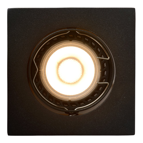 Lucide FOCUS - Recessed spot - LED Dimb. - GU10 - 3x5W 3000K - Black - Set of 3