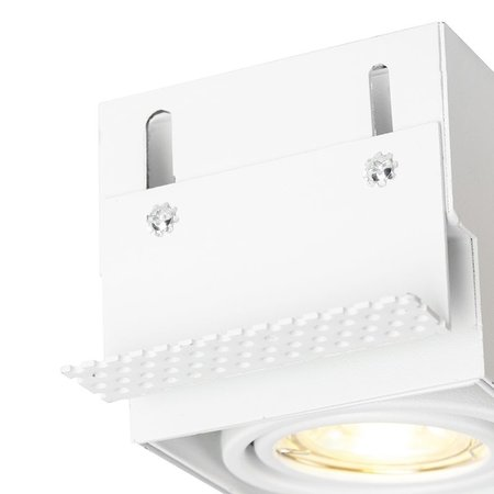 QAZQA Built-in spotlight Oneon 1 GU10 Trimless