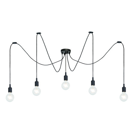 Lucide Vintage hanglamp Fix multiple 08408/05/30