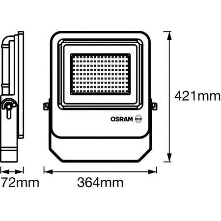 OSRAM Endura Projecteur LED 150-1300W gris foncé