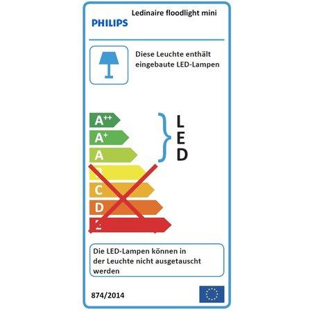 Philips Projecteur à LED 50-500W BVP154