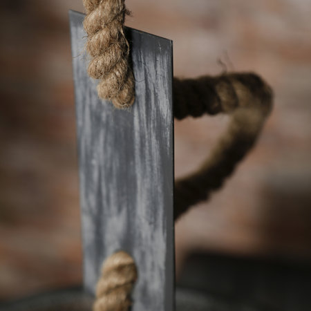 LioLights Vintage Hanglamp Ø40 mesh verstelbaar touw
