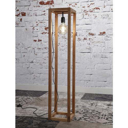 LioLights Lampadaire 25x25 cadre en bois
