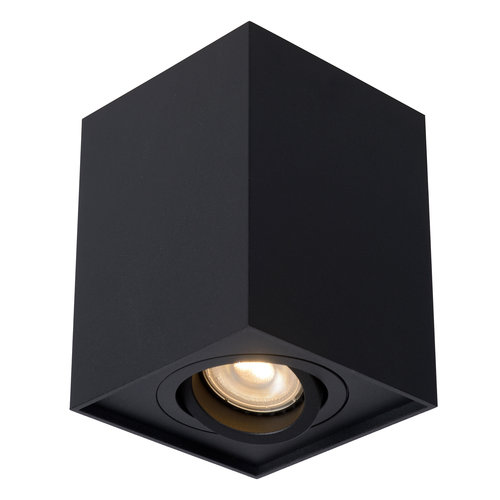 Lucide TUBE - Spot de plafond - GU10 - Noir 22953/01/30