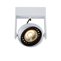 GRIFFON - Plafondspot - LED Dim to warm - GU10 - 1x12W 3000K/2200K - Wit