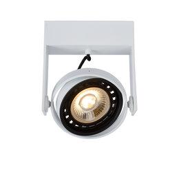 Lucide GRIFFON - Plafondspot - LED Dim to warm - GU10 - 1x12W 3000K/2200K - Wit