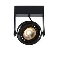GRIFFON - Plafondspot - LED Dim to warm - GU10 - 1x12W 3000K/2200K - Zwart
