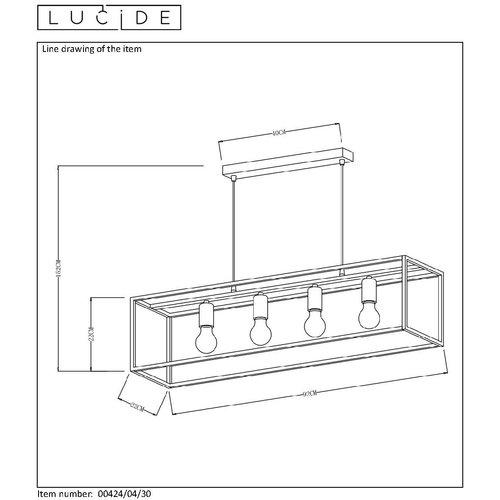 Lucide Suspension RUBEN 00424/04/30