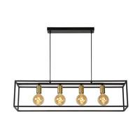 RUBEN - Pendant lamp - E27 - Black - 00424/04/30