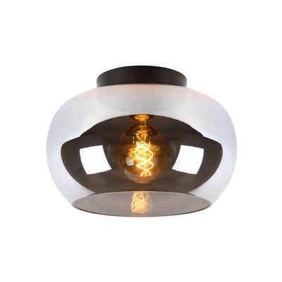 Lucide JUDI - Ceiling light - Ø 30.5 cm - E27 - Fumé 45177/30/65