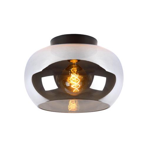 Lucide JUDI - Ceiling lamp - Ø 30.5 cm - E27 - Fumé 45177/30/65