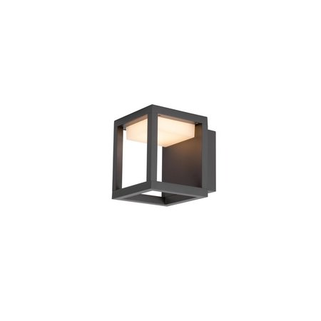 Absinthe LED Wall lamp Frame Wall Anthracite IP54
