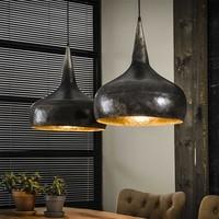 Vintage hanging lamp 2xØ40 funnel