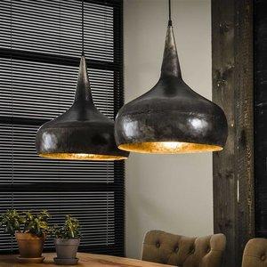 LioLights Vintage hanging lamp 2xØ40 funnel