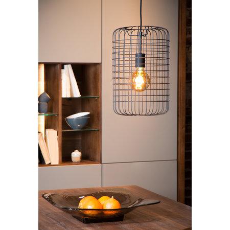 Lucide ESMEE - Hanging lamp - Ø 26 cm - E27 - Black - 02405/26/30