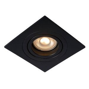 Lucide Recessed spot TUBE - Recessed spot - GU10 - Black - 22955/01/30