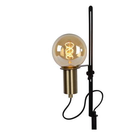 Lucide MALCOLM - Floor lamp - E27 - Black - 45778/01/30