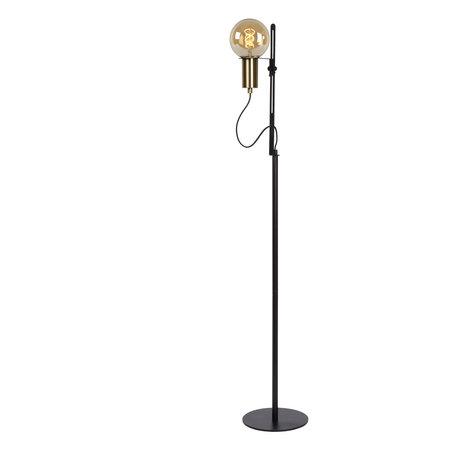 Lucide MALCOLM - Vloerlamp - E27 - Zwart - 45778/01/30