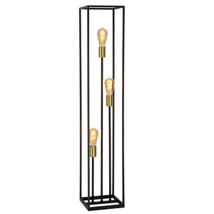 Lucide RUBEN - Floor lamp - E27 - Black - 00724/03/30