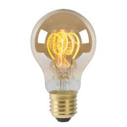 Lucide LED BULB - Filament lamp - Ø 6 cm - LED Dimb. - E27 - 1x5W 2200K - Amber
