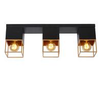 RIXT - Ceiling light - E27 - Black - 21120/03/30