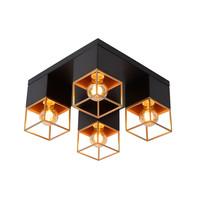 RIXT - Ceiling light - E27 - Black - 21120/04/30