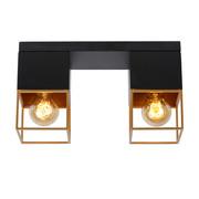 Lucide RIXT - Ceiling light - E27 - Black - 21120/02/30