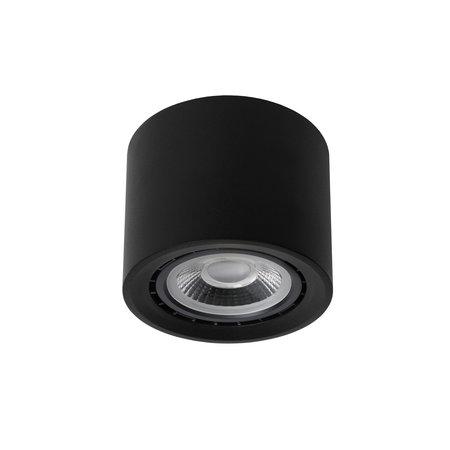 Lucide FEDLER - Ceiling spot - Ø 12 cm - LED Dim to warm - GU10 - 1x12W 3000K / 2200K - Black