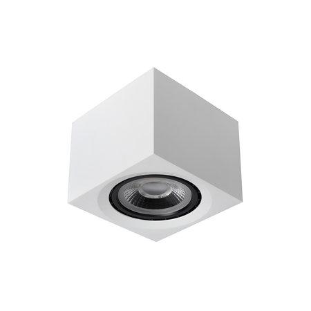 Lucide FEDLER - Projecteur de plafond - LED dim. À chaud - GU10 - 1x12W 3000K / 2200K - Blanc - 09922/12/31