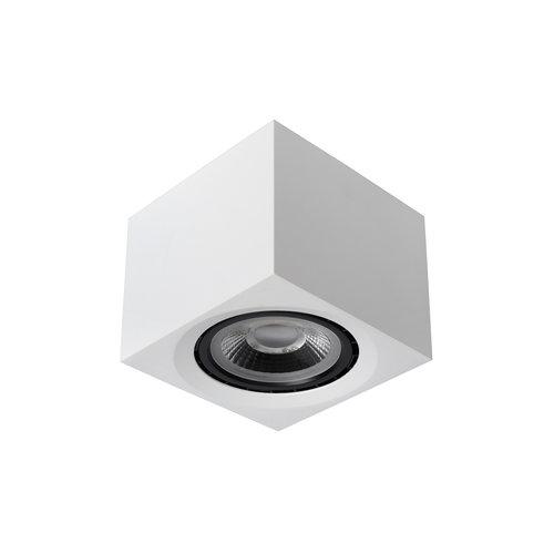 Lucide FEDLER - Plafondspot - LED Dim to warm - GU10 - 1x12W 3000K/2200K - Wit - 09922/12/31