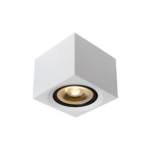 Lucide FEDLER - Ceiling spot - LED Dim to warm - GU10 - 1x12W 3000K / 2200K - White - 09922/12/31