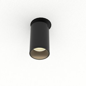 Absinthe LED Recessed spot Tuup Mini RC Trimless black