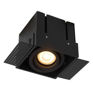 Lucide TRIMLESS - Recessed spotlight - GU10 - Black - 09925/01/30