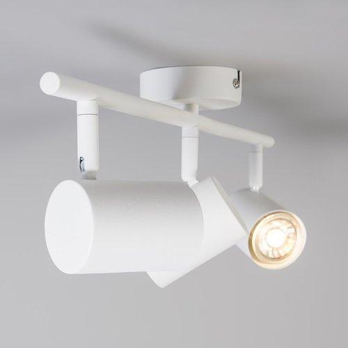 QAZQA Spot de plafond Spot Go Nine Tubo - Copy