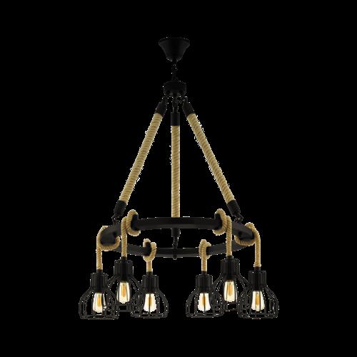 EGLO Vintage hanglamp  RAMPSIDE 43194